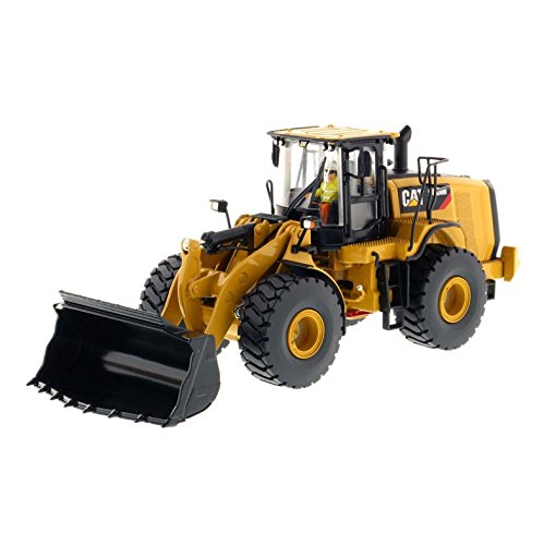 (Diecast Masters 1/50 Caterpillar 9662M Wheel Loader- High Line Series)
