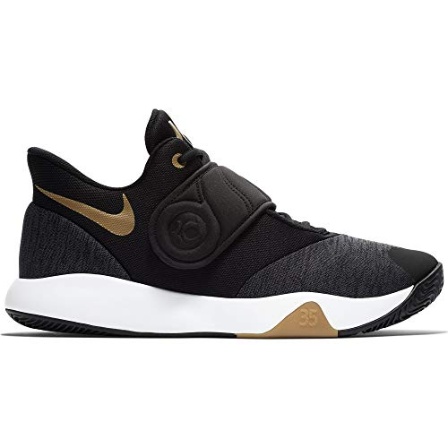 info for 2249e 22f2b Galleon - NIKE Men s KD Trey 5 VI Basketball Shoe Black Metallic Gold White  Size 9.5 M US