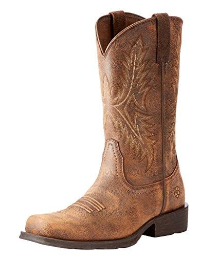 - ARIAT Men's Western Rambler Boot, Vintage Bomber 10 E US