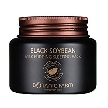 BOTANIC FARM Black Soybean Milk Pudding Sleeping Pack, 3.38 Fluid Ounce