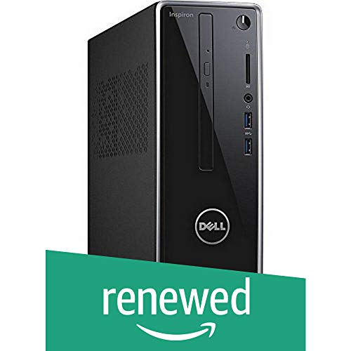 Renewed  Dell Inspiron 3250 Desktop  6th Gen Core i5 6400/8 GB/1TB/Windows 10 Home/2 GB Graphics , Grey