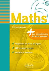 "Afficher ""Maths 6e"""
