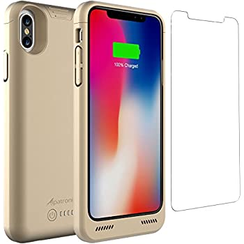 iphone x battery case qi wireless charging compatible alpatronix bxx 5 8 inch. Black Bedroom Furniture Sets. Home Design Ideas