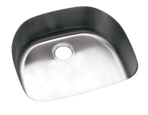 Elkay ELU2118 Harmony Lustertone Undermount Sink, Stainless (Undermount Group Stainless Steel Sink)