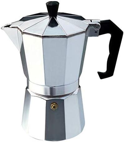 Fantasyworld Cafetera de Aluminio Moka Pot Octangle para café Moca ...