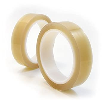 CS Hyde Optically Clear PTFE FEP Tape With Silicone Adhesive, 1 inch x 5 yards