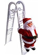 Froiny Kerstman Klimmen Ladder Kerst Decoratie Kids Gift voor Christs Party Home Deur