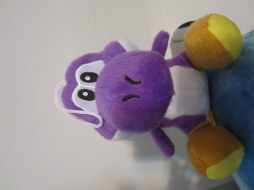 Purple Yoshi Plush Doll Approx