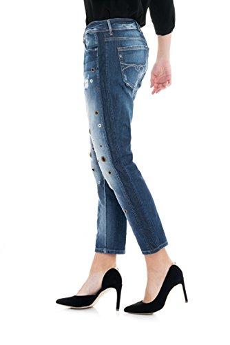 SALSA Shannon Pantalones 1st level con agujeros Azul