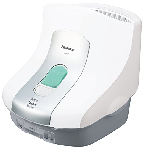 Steam Foot Spa with a Far-infrared Heater White[japan Import] by Panasonic by Panasonic