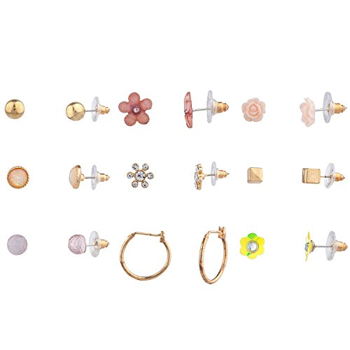 Buy diy gold studs mixed