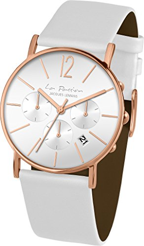 Jacques Lemans La Passion LP-123F Wristwatch for women Flat & light