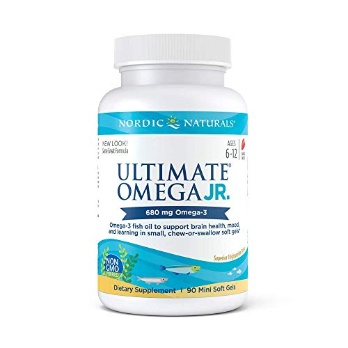 (Nordic Naturals - Ultimate Omega Junior, Support for a Healthy Heart, 90 Soft Gels)