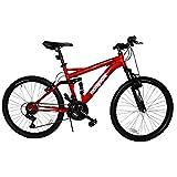Mongoose Bicicleta Standoff R24, color Roja