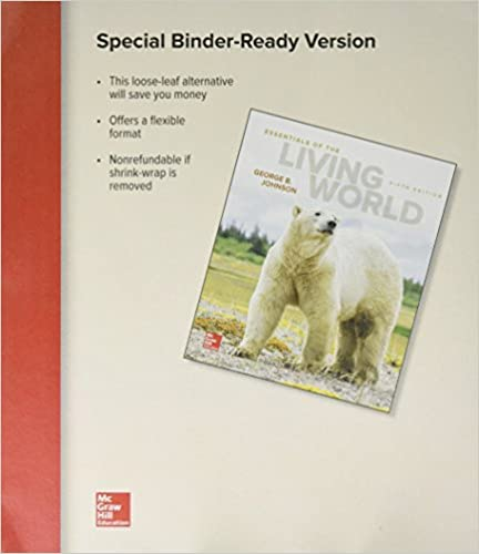 Essentials Of Living World (Looseleaf)
