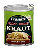 Franks Kraut Hot Dog, 8-ounces (Pack of12)
