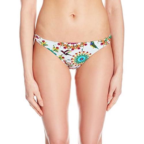 heißer Verkauf 2019 Desigual Damen Bikinihose Biki_Sonora White TyjMkfEi