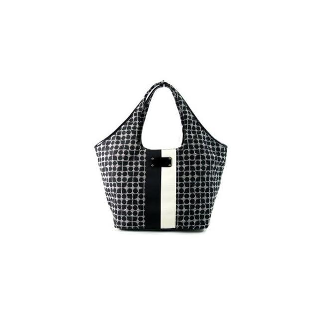 Kate Spade Classic Noel Large Tate Bag Purse Tote Black (WKRU1283)