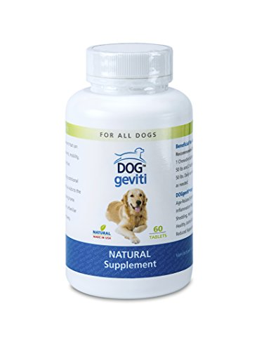 DOGgeviti Life Extension Superfood for All Dogs That Experience Pain in Hips, Back or Connective Tissue