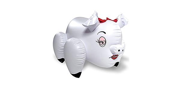 Amazon.com: Erotic Blow Up Pato/cabra/Pig, 860600, Cerdito ...