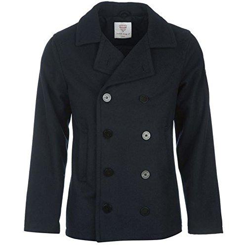 Lambretta Paon Veste pour homme Bleu marine vestes manteaux Parka