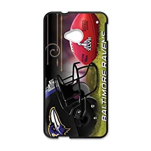 YYYT Super Bowl XLVII baltimore ravens Cell Phone Case for HTC One M7