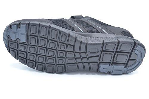 J´Hayber Chalinco Black - Zapatilla deportiva de velcro con plantilla foam