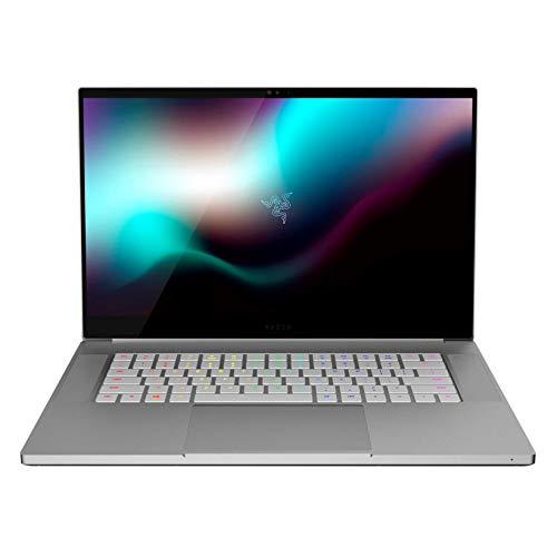 "Razer Blade 15 Studio Edition Laptop: Intel Core i7-9750H - NVIDIA Quadro RTX 5000 - 15.6"" 4K OLED Touch - 32GB RAM - 1TB NVMe SSD, CNC Aluminum, RGB Lighting, Thunderbolt 3, Mercury White"