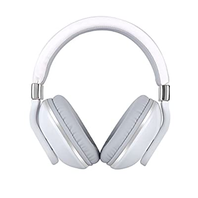 JBUNION Bluetooth Headphones On Ear with Mic, Decent Stereo Folding Wireless Headset, Wired and Wireless Headphoneswith Big Noise Isolation Memory-Protein Earmuffs for Cell Phone/ TV/ PC