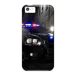 Favorcase Perfect Cases For Iphone 5c/ Anti-scratch Protector Cases (dodge Charger Pursui)