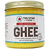 Tin Star Foods - 13.5 Oz Grassfed Cultured Ghee - 2 Pack …