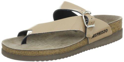 Mephisto Women's Helen Thong Sandal,Light Sand Pearl Patent,11 M US
