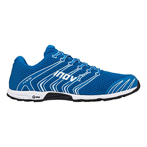 Inov-8 Unisex F-Lite 230   Original Cross Training Fitness Shoe   Perfect for Crossfit Workouts and Running   Blue/White 10.5 M UK