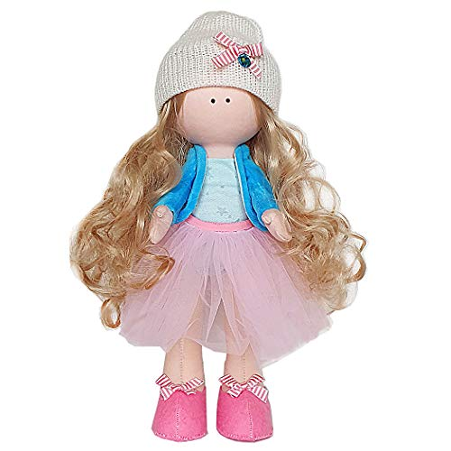 Fairy Olivia - Crafts Make Your Own Rag Doll - Doll Making Kit by Tsvetnoy - Good for Gift and Joint Creativity of Adults and Children