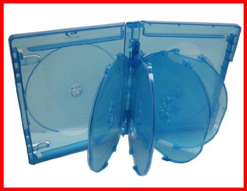 2 Pk Blu-ray Multi Case 10 Tray (Holds 10 Discs) Viva Elite (Pack of 2)