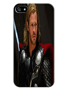 The Cool Chris Hemsworth Thor fashionable COOL TPU phone Protection Case/Cover/shield for iphone 5/5s