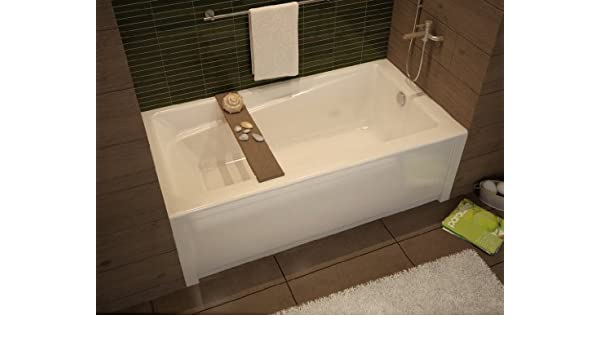 Maax 105519-000-001-103 White Professional Exhibit 6030 Soaking Tub ...