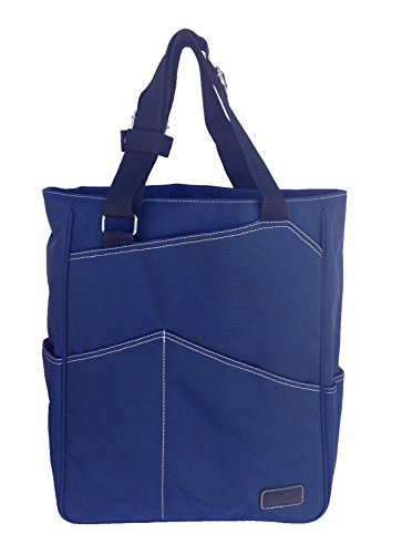 Maggie Mather Tennis Tote, Travel Tote (Navy)
