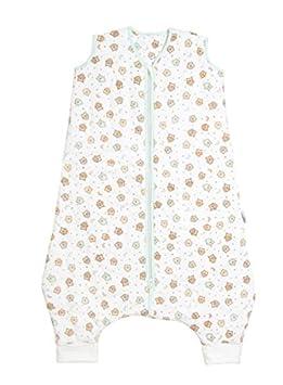 Saco de Dormir con Pies de Verano Slumbersac para Niño aprox. 0.5 Tog - Búho - 3-4 años: Amazon.es: Bebé