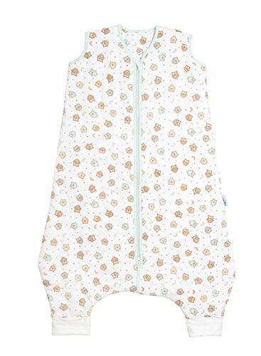 Saco de Dormir con Pies para Niño Slumbersac aprox. 2.5 Tog - Búho- 24-36 meses