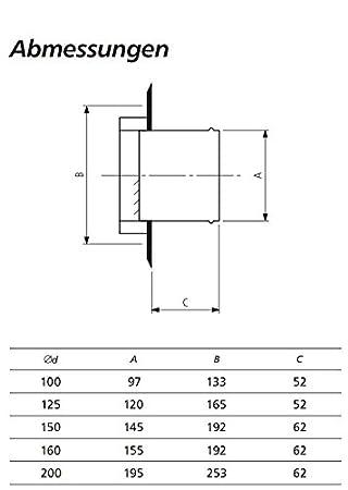 Griglia a lamelle in acciaio inox lucidato con griglia di protezione dagli agenti atmosferici da DN 100 mm