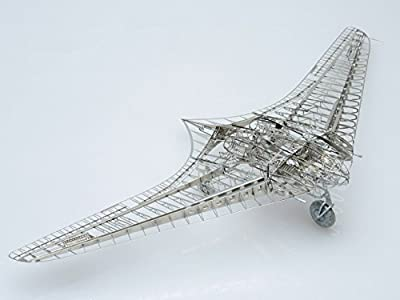 JASEMINE MODEL 3D Metal Puzzzle Model-1/72 HO-229 Stealth Bomber by YX