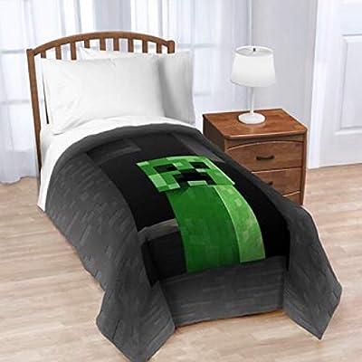 Minecraft Kids Twin Size Bedding Blanket