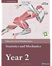 Edexcel A level Mathematics Statistics & Mechanics Year 2 Textbook + e-book (A level Maths and Further Maths 2017)