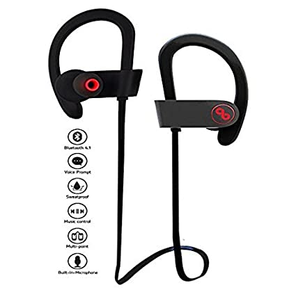 bdab252d064 Eyuvaa Gionee mobiles Jogger Bluetooth 4.1 Wireless Headphones Earphone  Headset Compatible with Xiaomi Mi, Lenovo