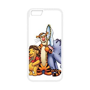 iPhone 6 Plus 5.5 Inch Cell Phone Case White Pooh's Heffalump Halloween Movie Phone Case Cover 3D Customized CZOIEQWMXN7917