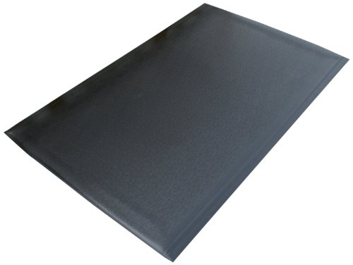 Rhino Mats DS-420 Dura Step Anti-Fatigue Mat, 4' Width x 20' Length x 1/2'' Thickness, Black by Rhino Mats