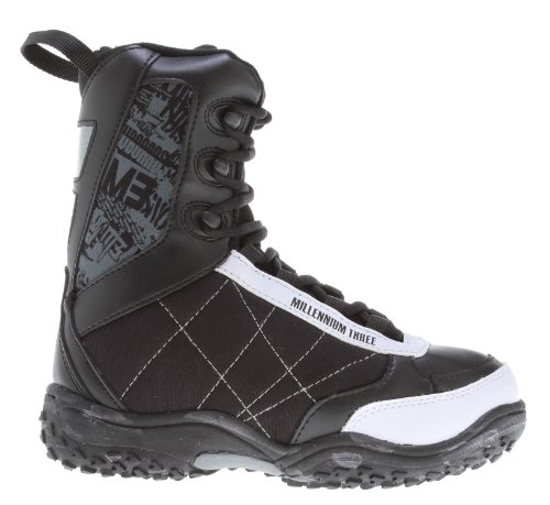 M3 Militia Jr. Snowboard Boots Black/White Kids