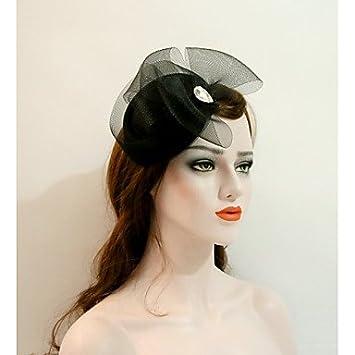 XZX Jewellery Flannelette Net Headpiece-Wedding Party  Evening Fascinators  Hats 1 Piece  Amazon.co.uk  Sports   Outdoors b992af0653b