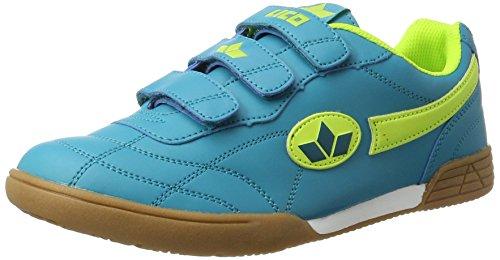Lico Bernie V, Zapatillas Deportivas para Interior Unisex Adulto Azul (Petrol/lemon)